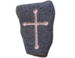 Budded Cross Magnet