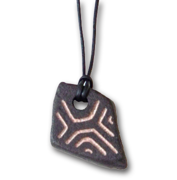 Pottery Shard 3 Pendant/Necklace