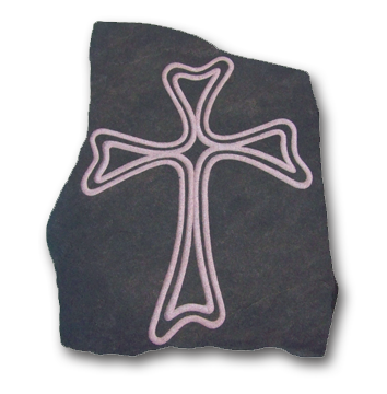 Large Rounded Cross