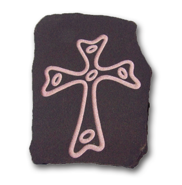 Medium Rounded Cross