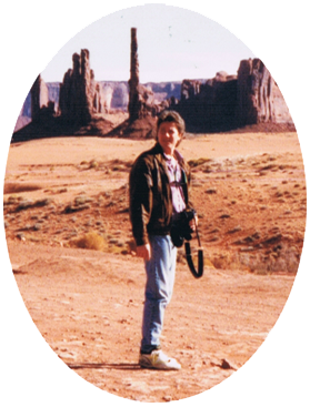 Ron in Monument Valley